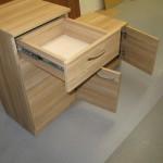 3 durelių prieškambario komodos praviras stalčius