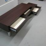 3 stalčių su durelėmis svetainės komoda su savaiminio atsidarymo stalčiais