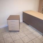 4 stalčių biuro komoda