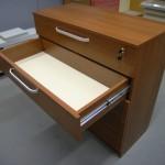 5 stalčių biuro baldų komoda su užraktu