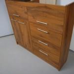 5 stalčių prekystalis biuro komoda