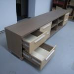 6 stalčių jaunuolio  komoda su kokybiškais bėgeliais