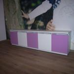 vaikų kambario komoda su 5 durelėmis